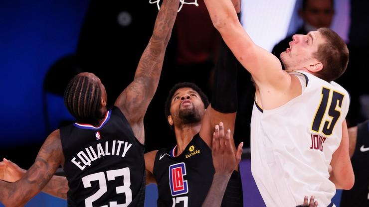 NBA: Nuggets w finale na Zachodzie, na Wschodzie Heat zaczęli od wygranej