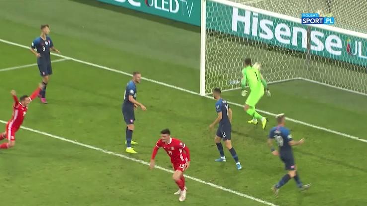 Słowacja - Walia 1:1. Skrót meczu