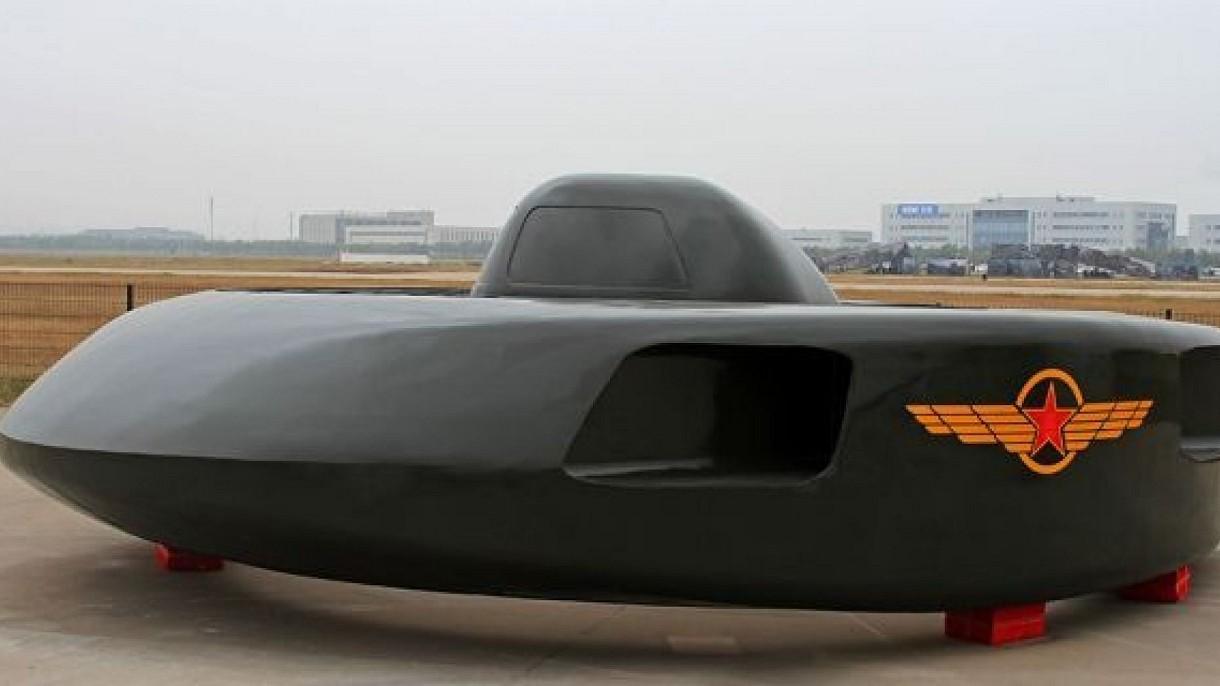 Chińska armia zaprezentowała działający prototyp UFO. Pojazd trafi do armii