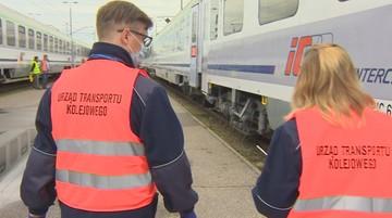 Sanitarni kontrolerzy w pociągach. Sprawdzają maseczki i nakładają kary