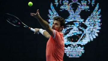 ATP w Sankt Petersburgu: Chaczanow i Wawrinka odpadli w ćwierćfinale