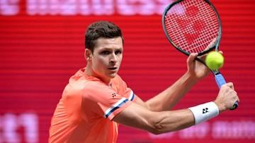 ATP w Kolonii: Hurkacz odpadł w ćwierćfinale. Doświadczony Hiszpan za mocny