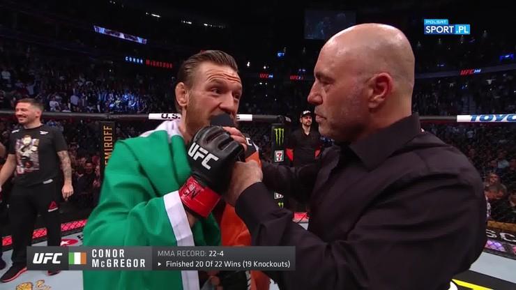 McGregor: UFC może zabierać tytuły, ale nikt nie zabierze mi nokautów
