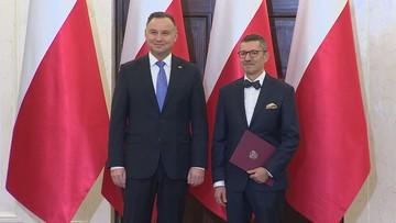 Prezydent Andrzej Duda powołał swojego przedstawiciela w KNF
