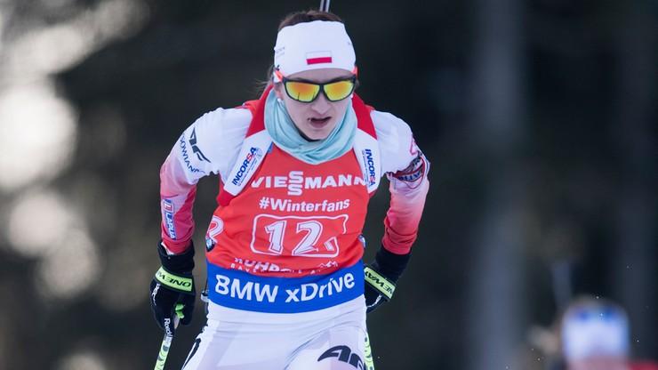 PŚ w biathlonie: Ósme miejsce Hojnisz-Staręgi