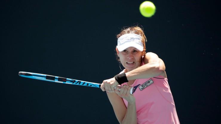 WTA w Dausze: Linette odpadła z turnieju już w pierwszej rundzie