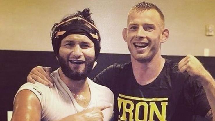 UFC: Posiadacz pasa BMF pogratulował wygranej Polakowi