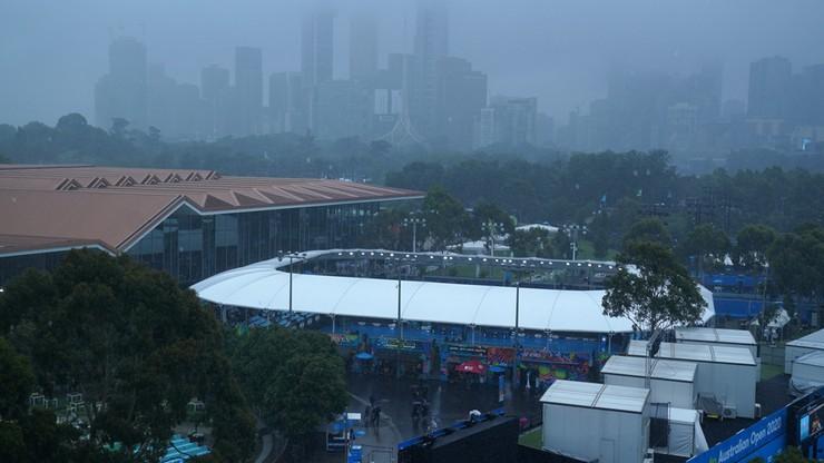 Australian Open: Mecz Hurkacza przełożony! Powodem gigantyczny grad i ulewa