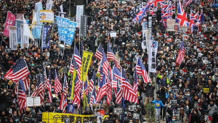 Policja zatrzymała w Hongkongu blisko 400 demonstrantów