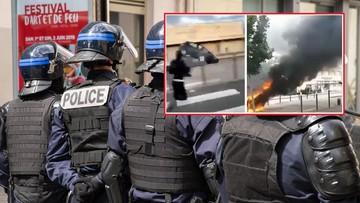 Wojna gangów w Dijon. Brutalne starcia, na ulicach płonęły samochody [WIDEO]