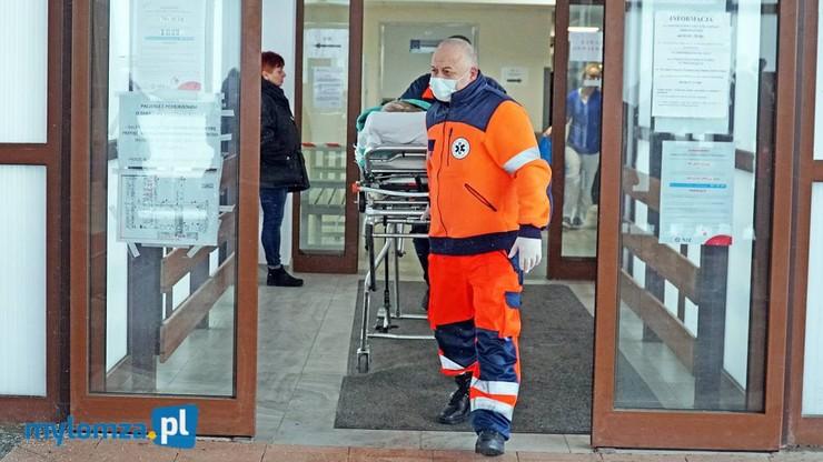 """Awantura o szpital w Łomży. """"Jesteśmy tak nieprzygotowani, że głowa mała"""""""