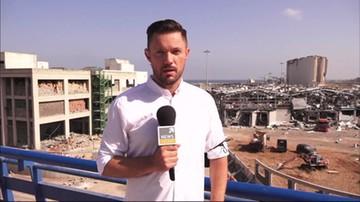 Tomasz Lejman: maleją szanse na znalezienie żywych ludzi w Bejrucie