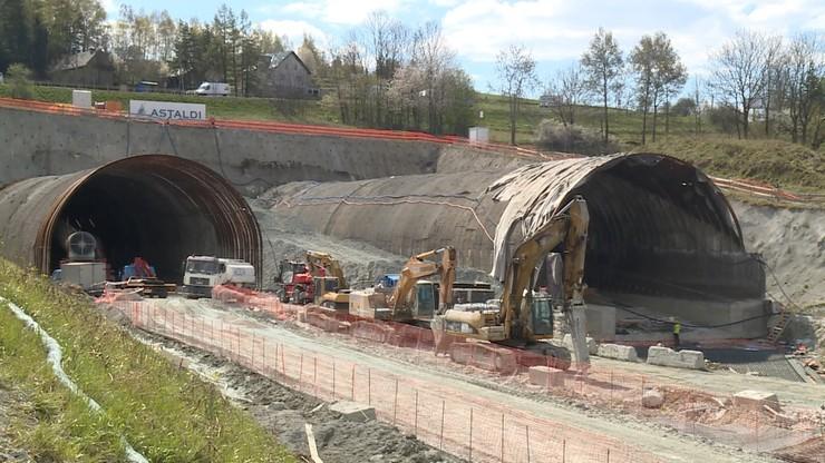 Nowa Zakopianka. Przebito drugą nitkę najdłuższego tunelu w Polsce