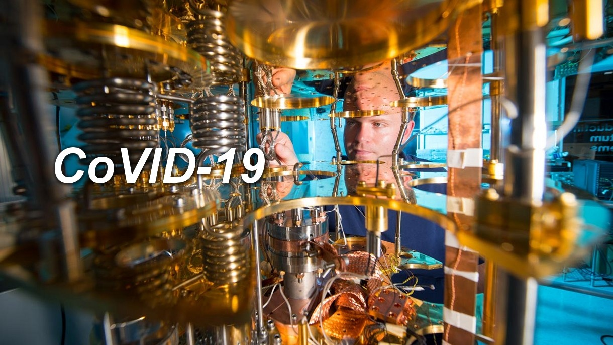 Komputery kwantowe zwalczą dla nas nowe pandemie, które będą wybuchały regularnie