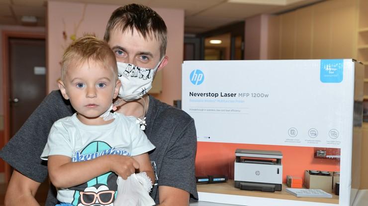 3 tys. drukarek trafiło do szkół, szpitali i domów dziecka. Pomogły Fundacja Polsat i HP