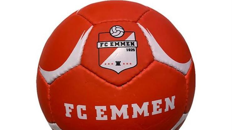 FC Emmen przekonało federację. Logo sex shopu na koszulkach piłkarzy