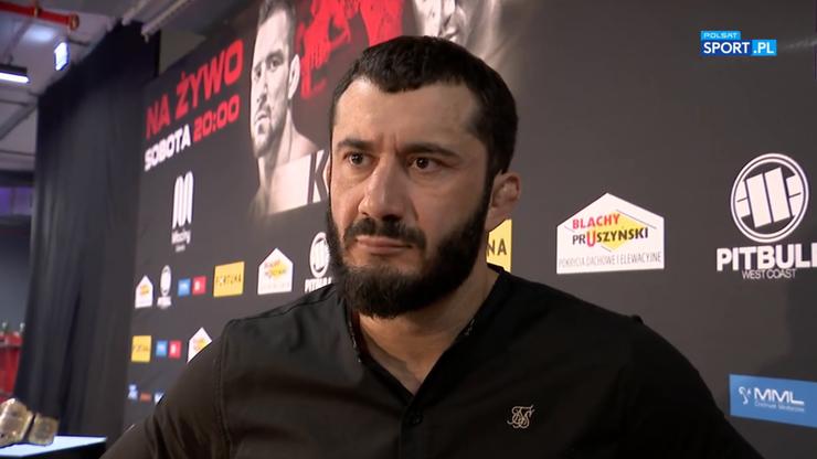 Mamed Khalidov zdradził, w jakiej organizacji widzi Mateusza Gamrota