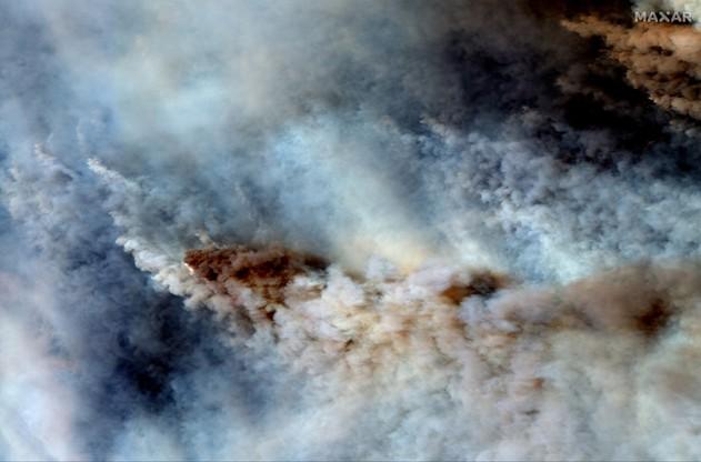 Pożary w Australii. Zdjęcia satelitarne i wizualizacja ilustrująca zniszczenia