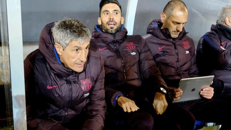 Pierwszy poważny sprawdzian nowego trenera Barcelony