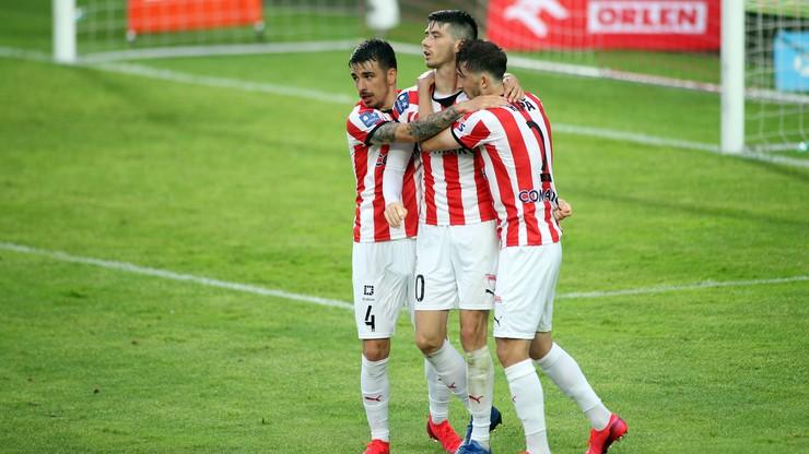 PKO BP Ekstraklasa: Cracovia lepsza od Pogoni w poniedziałkowym meczu