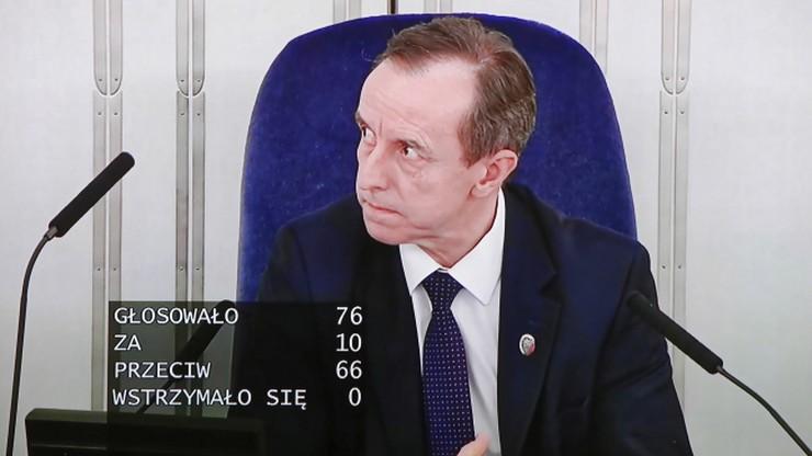 """Grodzki: Senat usunął z """"tarczy antykryzysowej"""" wszystko, co nie wiąże się z walką z koronawirusem"""