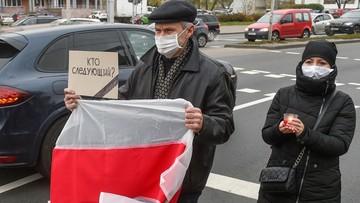 Białoruś: zatrzymania podczas protestów w całym kraju