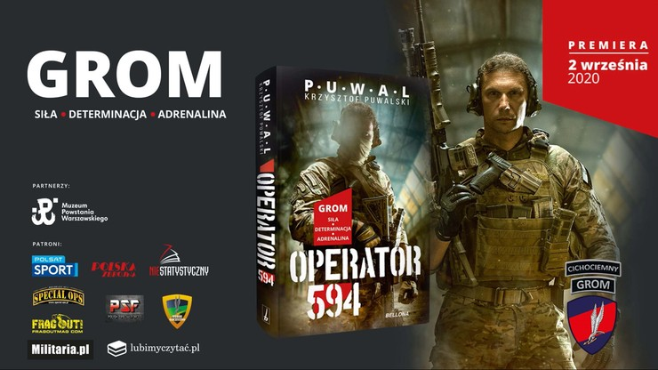 """Premiera książki """"Operator 594"""". Historia z tajnych operacji"""