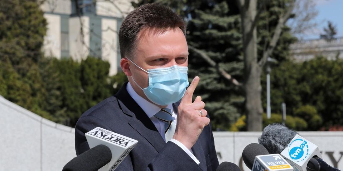 Szymon Hołownia i Donald Tusk wieszczami końca Platformy