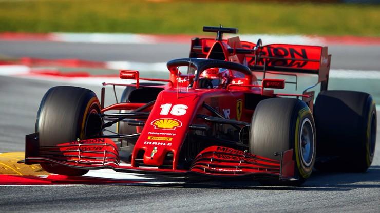 Formuła 1: Leclerc przejechał bolidem ulicami Maranello