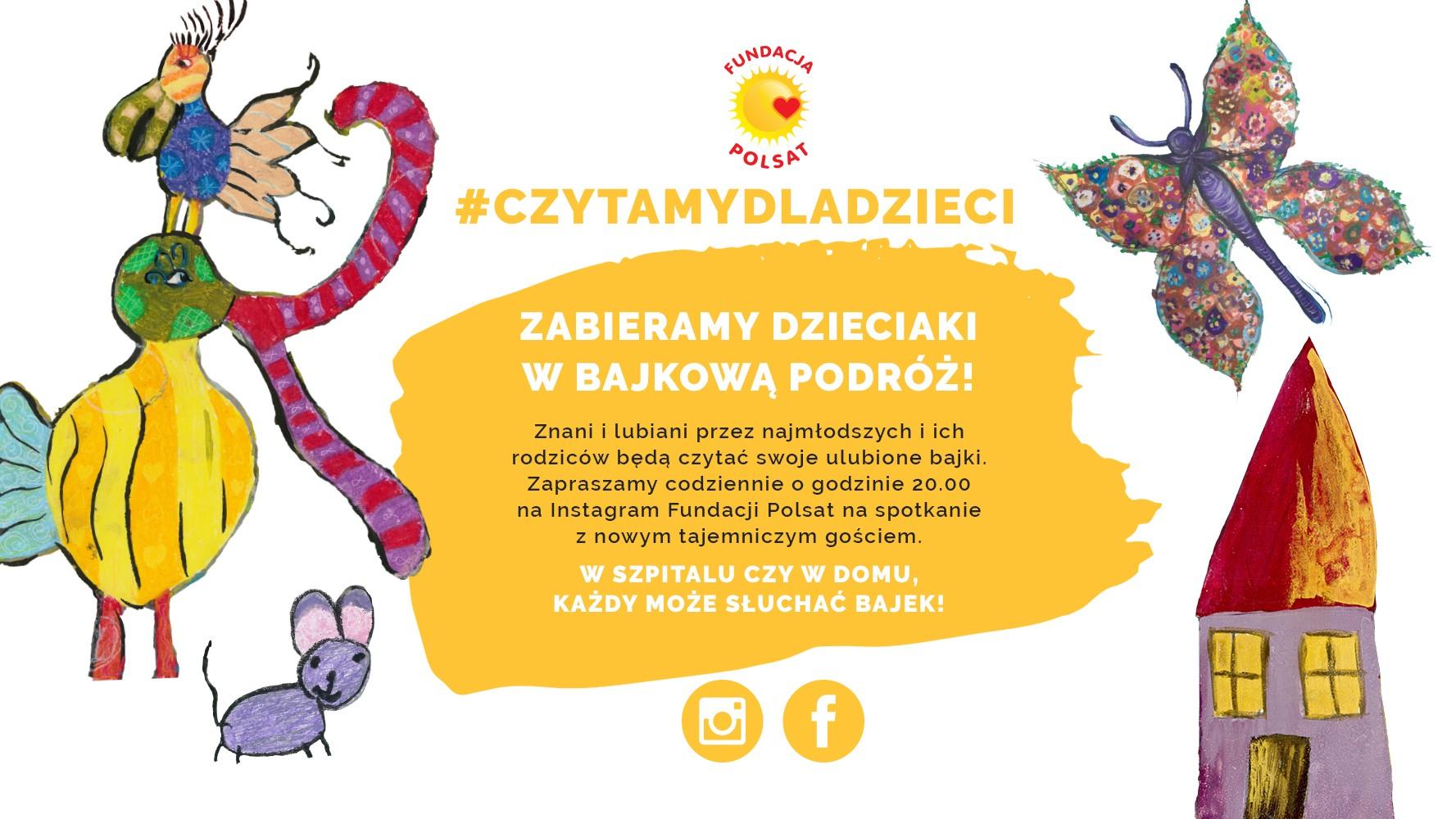#CzytamyDlaDzieci - bajkowa podróż z Fundacją Polsat