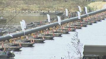 Wojsko rozmontowało most pontonowy na Wiśle. To nie koniec akcji