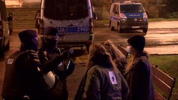 Protesty w Warszawie. Policja podała dane, są zatrzymani