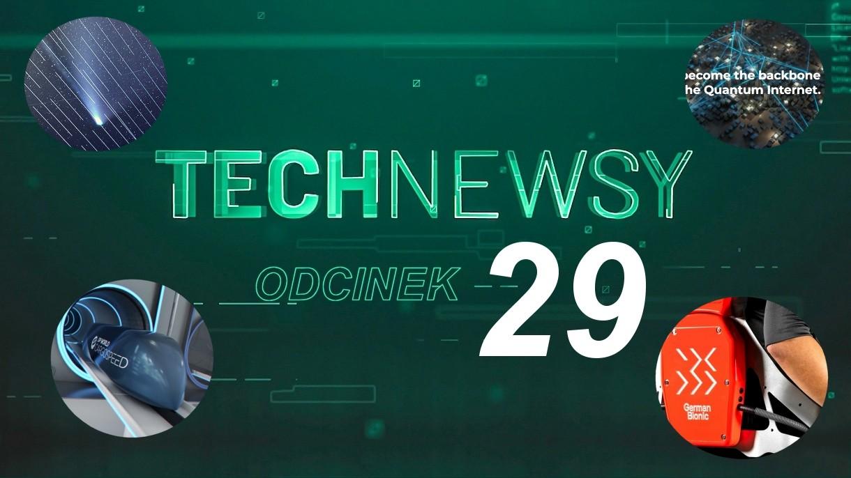 Zobacz TechNewsy odcinek 29 - filmowy przegląd najciekawszych wiadomości