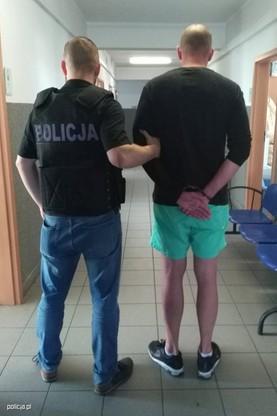 44-latek został zatrzymany przez policję