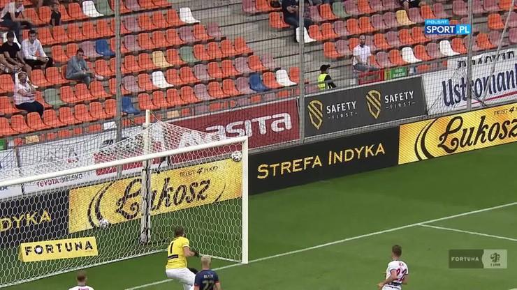 Fortuna 1 Liga: Cudowny gol Janasika w meczu Podbeskidzie - Odra