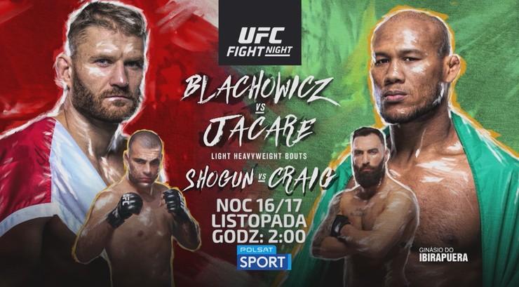 UFC: Błachowicz vs Jacare. Zapowiedź gali