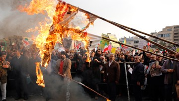 Amnesty International: ponad 140 osób zginęło w protestach w Iranie