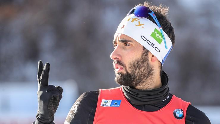 PŚ w biathlonie: Fourcade wygrał i został liderem