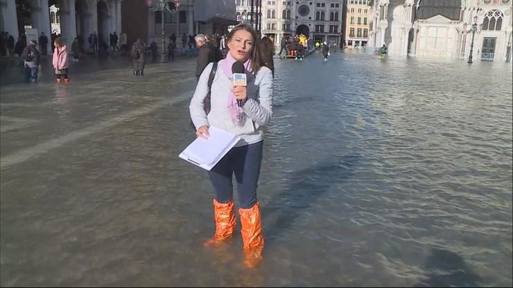 Stan kryzysowy w Wenecji. Szkody wyceniono na setki milionów euro