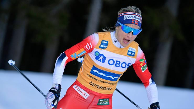 Sprinterskie zwycięstwa Johaug i Klaebo w Aare