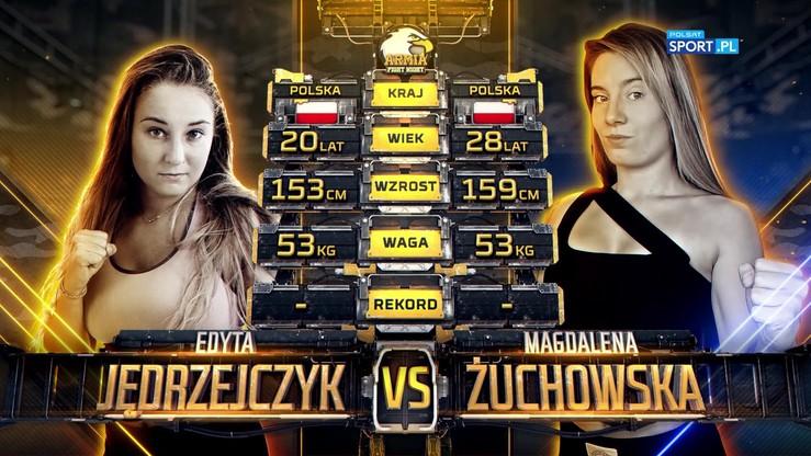 2019-10-05 Edyta Jędrzejczyk - Magdalena Żuchowska. Skrót walki