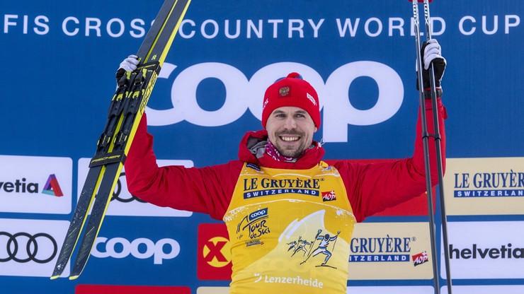 Tour de Ski: Triumf Ustiugowa ze startu wspólnego na inaugurację