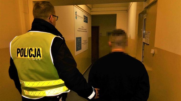 Kradzionym samochodem pod wpływem narkotyków uciekał przed policją [WIDEO]