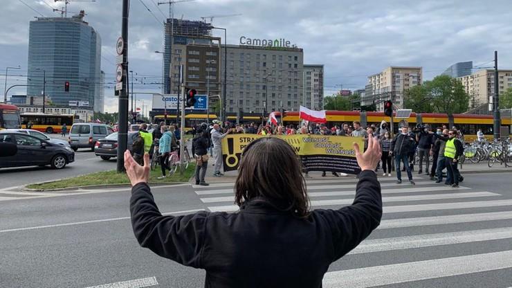 Protest przedsiębiorców w Warszawie. Miasto nie mogło wpisać zgromadzenia do rejestru
