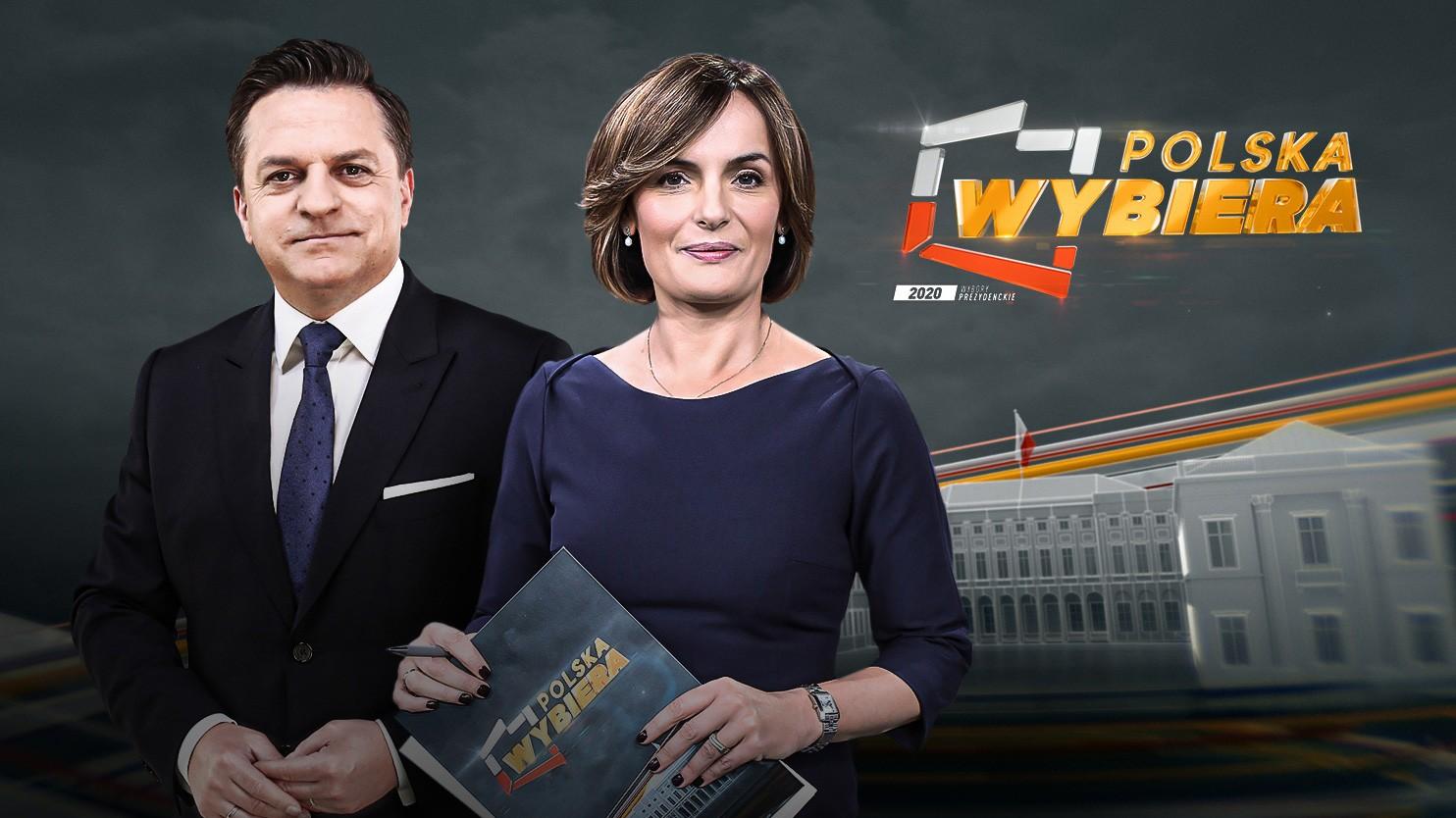 """2 mln oglądały """"Polska Wybiera - Wybory Prezydenckie 2020"""""""