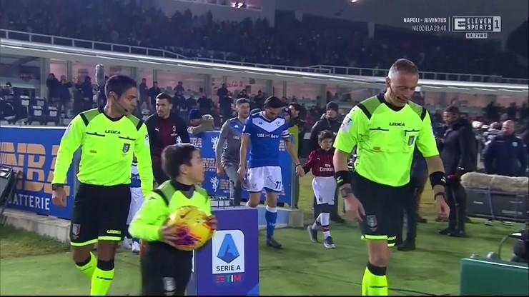Brescia - AC Milan 0:1. Skrót meczu [ELEVEN SPORTS]