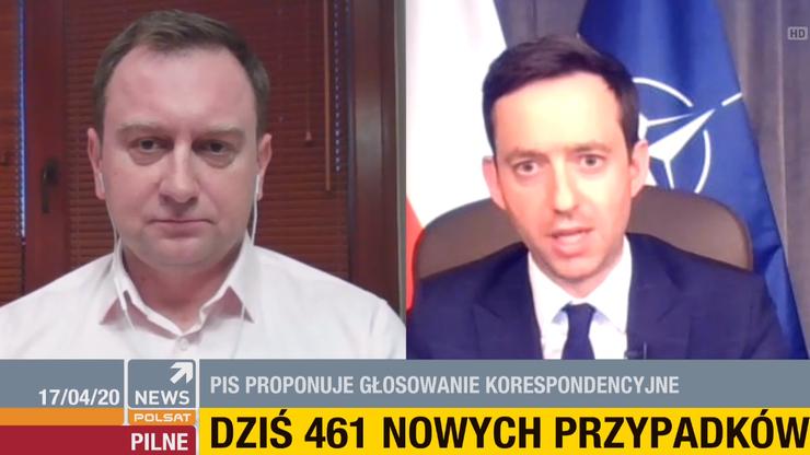 Trela: minister Szumowski zachował się jak polityk, a nie jak lekarz
