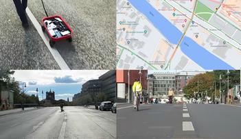 Jak oszukać Google Maps? Wystarczą smartfony i... czerwony wózek