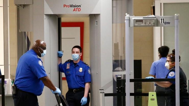 """""""Antykoronawirusowe"""" technologie testowane na amerykańskich lotniskach"""