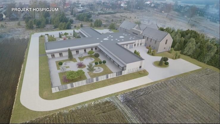Hospicjum stacjonarne dr Grabowski chce wybudować w Makówce. Na razie są tylko fundamenty